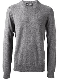 Dolce & Gabbana  - Crew Neck Sweater