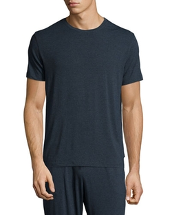 Derek Rose - Crewneck Short-Sleeve Knit Tee