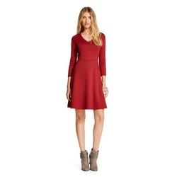 Merona - Ponte Fit And Flare Dress