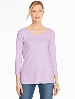 Talbots - Scoop Neck Top