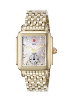 Michele - Swiss Quartz Gold Watch