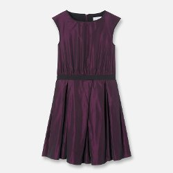 Jacadi - Taffeta Belted Dress