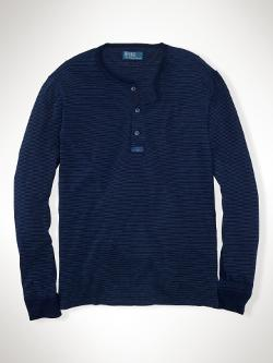 Polo Ralph Lauren  - Striped Indigo Henley