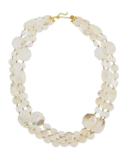 Viktoria Hayman - Mother-Of-Pearl Three-Strand Necklace