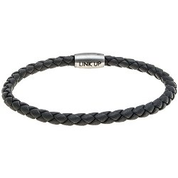 Link Up  - Woven Leather Cord Bracelet
