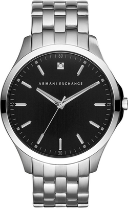 A|X Armani Exchange - Diamond Accent Bracelet Watch