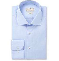 Hackett  - Mayfair Slim-Fit Cotton-Poplin Shirt