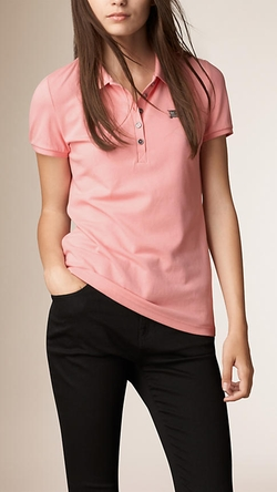 Burberry - Cotton Piqué Polo Shirt