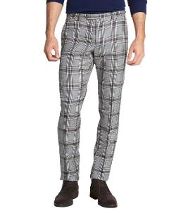 Gucci  - Grey Plaid Wool Pants