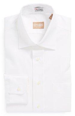 Gitman - Regular Fit Pinpoint Cotton Oxford Point Collar Dress Shirt