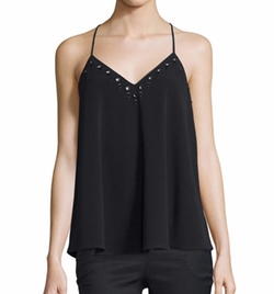 10 Crosby Derek Lam - Strappy Embroidered Tank Top