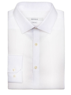 Perry Ellis - Very Slim Corded Texture Dress Shirt