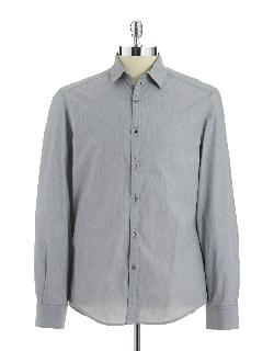 KENNETH COLE NEW YORK  - Button-Down Shirt