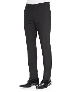 Maison Martin Margiela	  - Slim-Fit Wool Trousers