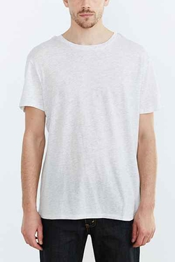 Urban Outfitters - Tri-Blend Crew Neck Tee