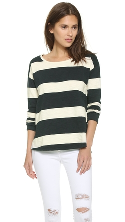 Madewell  - Setlist Rugby Stripe Pullover Top