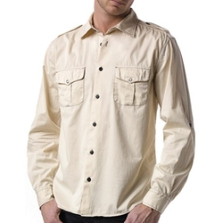 Agave Denim  - Cotton Twill Ex-Patriot Shirt