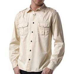 Agave Denim  - Cotton Twill Ex-Patriot Shirt