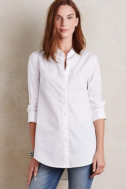 By Hd In Paris - Pleated Poplin Buttondown Shirt