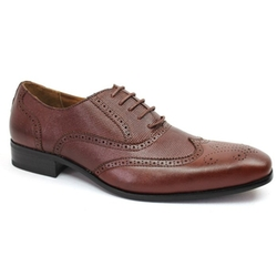 Ferro Aldo - Brogue Details Lace up Oxford Shoes