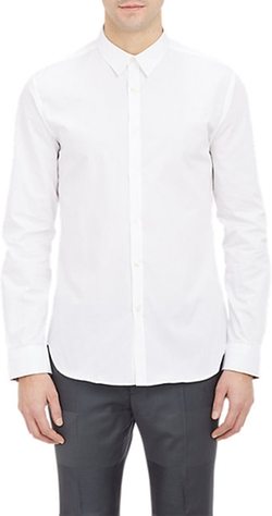 Ps Paul Smith - Floral Undercuff Fitted Shirt