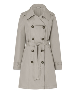 Simply Be - Fit And Flare Mac Coat