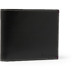 Paul Smith - Printed Leather Billfold Wallet