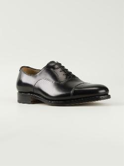 Salvatore Ferragamo  - Serrated Seam Oxford Shoes