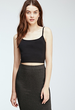 Forever21 - Cropped Knit Cami Top