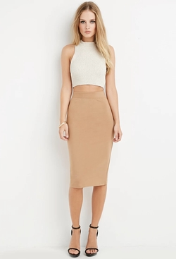 Forever21 - Classic Knit Pencil Skirt