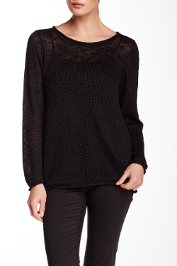 Lafayette 148 - Intarsia Scoop Neck Sweater