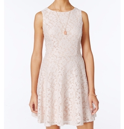 Speechless  - Glittered Lace Dress