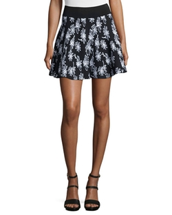 Opening Ceremony  - Daisy Floral-Print Flare Skirt