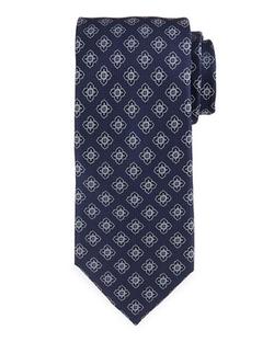 Neiman Marcus - Textured-Neat Silk Tie