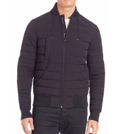 Moose Knuckles - Quilted Bomber Jacket