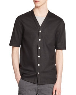 Helmut Lang - Short-Sleeved Cotton Cardigan