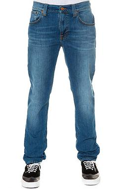 Nudie Jeans  - The Tape Ted Organic Blue Emeralds Denim in 80