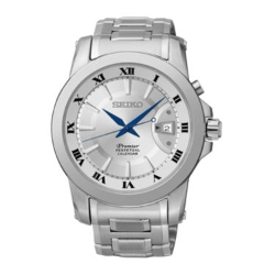 Seiko - Premier Perpetual Stainless Steel Watch