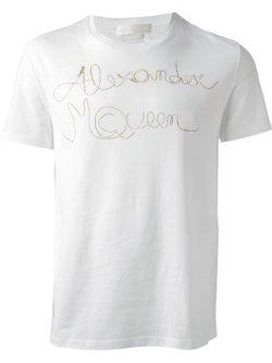 Alexander McQueen - Logo Print T-Shirt