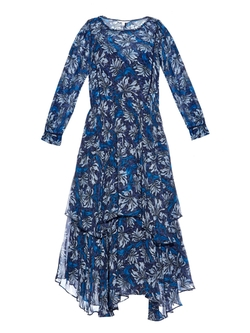 Rebecca Taylor - Floral-Print Silk-Chiffon Dress