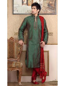 Bhar at plaza - Latest Innovative Green Kurta