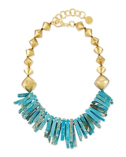 Nest Jewelry - Jasper Point Statement Necklace