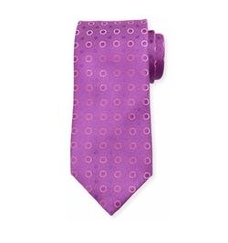 Charvet - Dot-Print Silk Tie