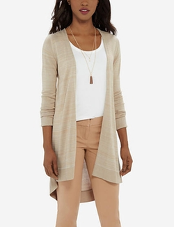 The Limited - Long Open Front Cardigan