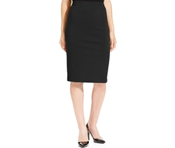 Grace Elements -  Below-Knee Solid Pencil Skirt