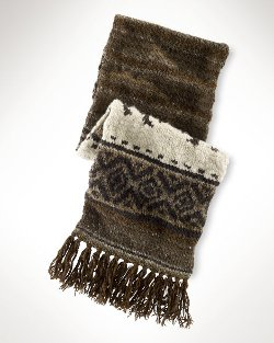Ralph Lauren - Limited Ed Hand Knit Scarf