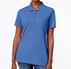 Karen Scott - Short-Sleeve Polo Top