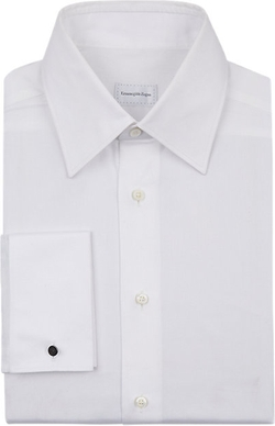 Ermenegildo Zegna - Twill Dress Shirt