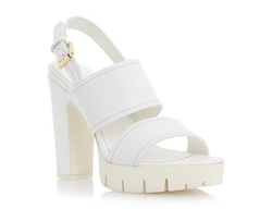 Dune London - Cleated Platform Heel Sandal