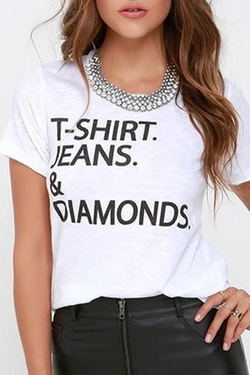 Chaser - Jeans & Diamonds Tee
